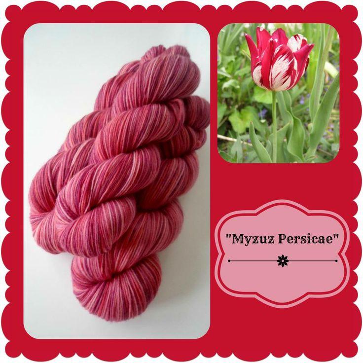 Myzuze Persicae - Dutch Flowers   Red Riding Hood Yarns