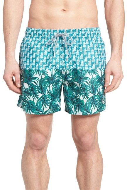 Ted Baker Pineblo Swim Trunks