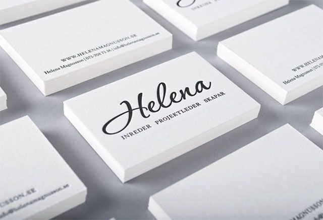 22 New Creative And Cool Business Cards Best Of September 2012