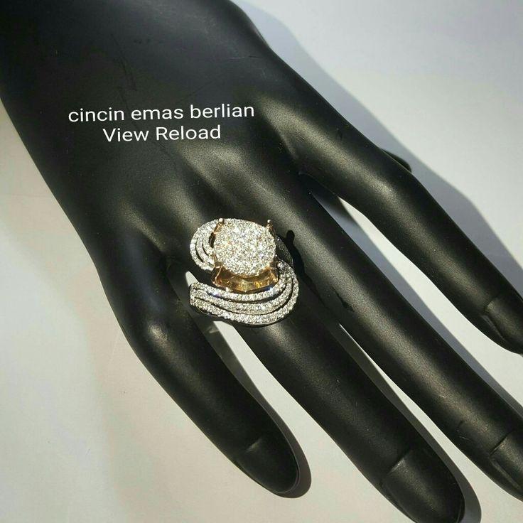 New Arrival🗼. Cincin Emas Berlian View Reload💎💍.   🏪Toko Perhiasan Emas Berlian-Ammad 📲+6282113309088/5C50359F Cp.Antrika👩.  https://m.facebook.com/home.php #investasi#diomond#gold#beauty#fashion#elegant#musthave#tokoperhiasanemasberlian