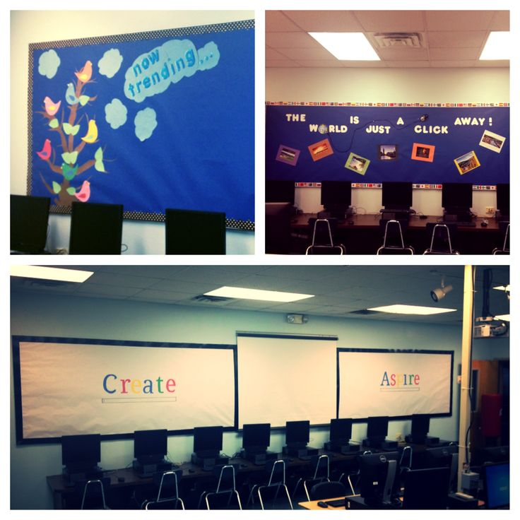 Computer Classroom Decoration Ideas ~ Best ideas about computer lab decor on pinterest