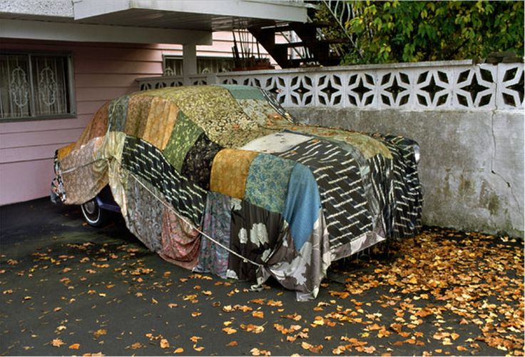 Fred Herzog - Car Cover