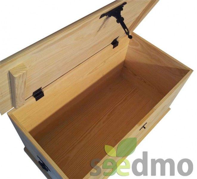 Decoraci n ba l de madera con herreria compra online - Baules baratos madera ...