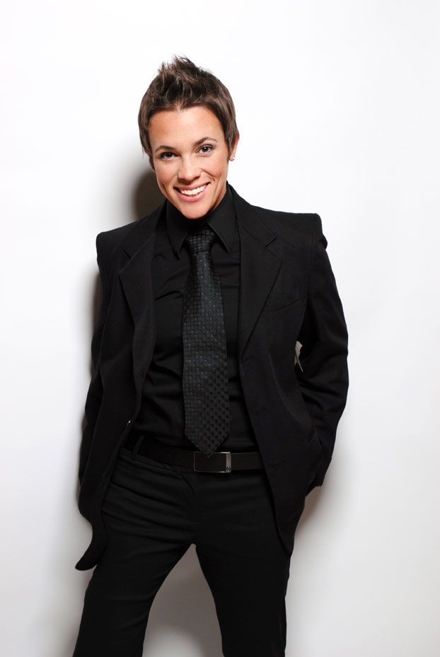 black butch tux looks great, too. :)
