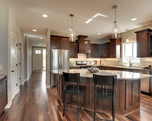 Cappuccino Stain Cabinets Google Search Wood Floor