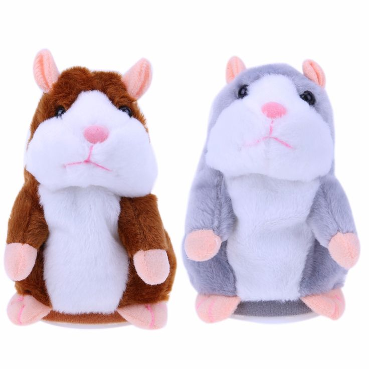 $20.85 - Nice Cute Talking Hamster Plush Toy Lovely Sound Record Speaking Animal Doll Talking Hamster Kids Educational Doll Toy Gift - Buy it Now!
