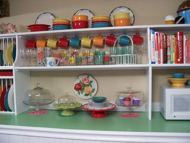 Open Shelving For Fiesta Ware