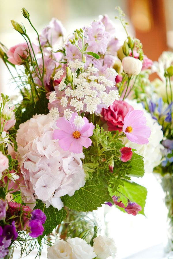 garden bouquet for centerpieces or to carry