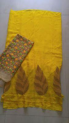 Georegette Sarees With Designer Blouse | Buy Online sarees | Elegant Fashion Wear                                                                                                                                                     More