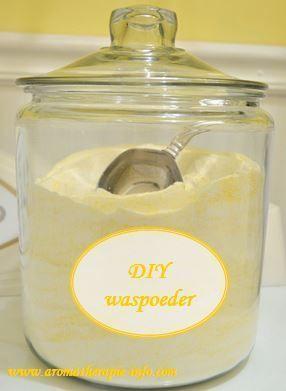 Zelf waspoeder maken is nog simpeler en sneller te maken dan vloeibaar wasmiddel.