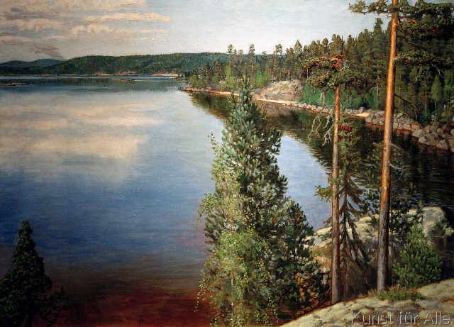 Akseli Gallen-Kallela - Landschaft in Ruovesi