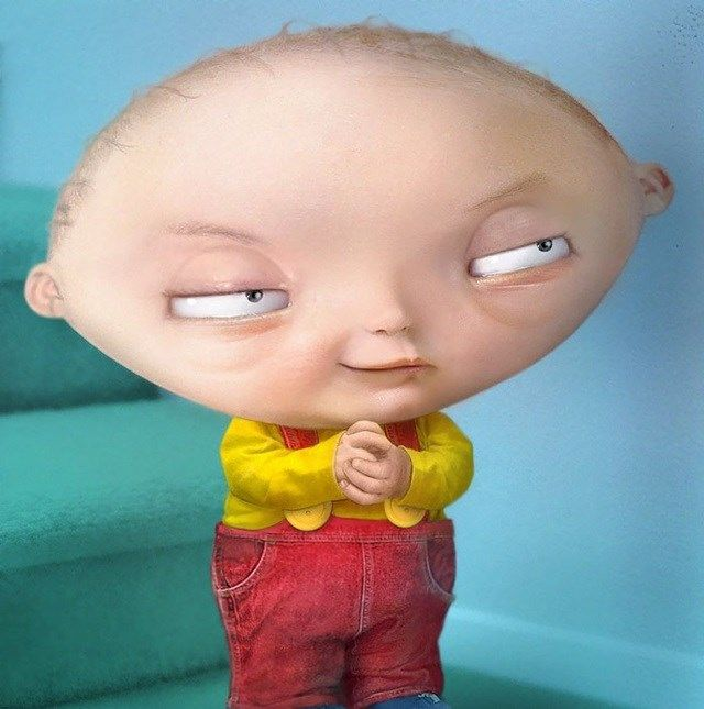 """Stewie, de """"Uma Família da Pesada"""" (Family Guy)"""