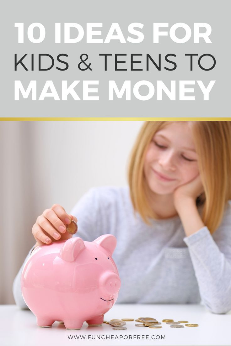 10 Ways For Kids To Make Money – Family Money Matters