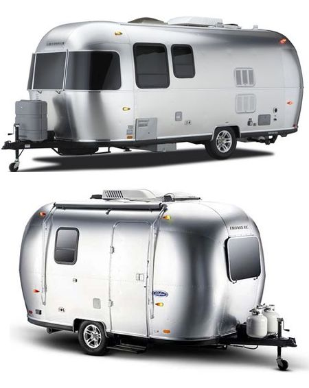 Some of the best modern travel trailers are these Airstream Sport Travel Trailers 2012. Lightweight and nimble, these Airstream Sport best modern travel trailers are really easy to use which makes them perfect for those who want to just hitch-up and go. Airstream Sport Travel Trailers 2012 also let you live well and feature smart floorplans (16 and 22FB) that maximize space and minimize waste in two easy-to-handle lengths.
