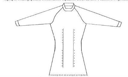 Секреты идеальной посадки по фигуре при вязании реглана сверху