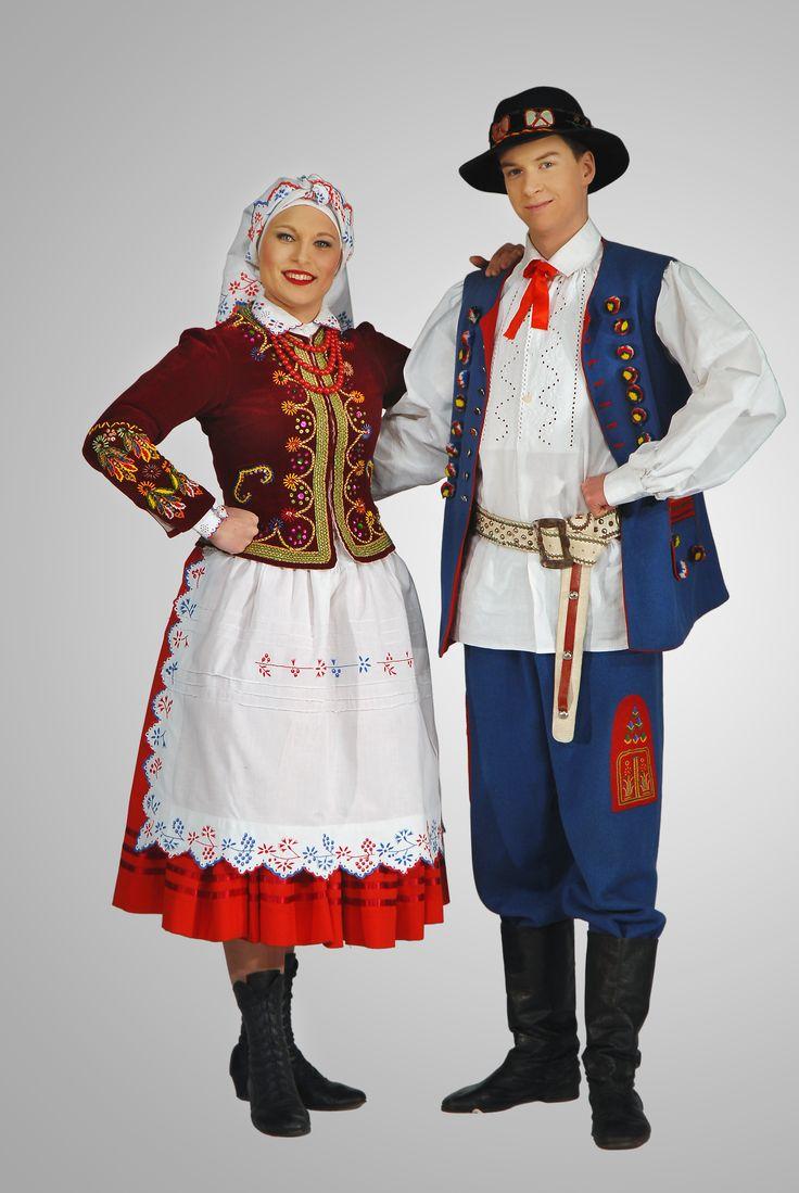 strój rzeszowski-costume from Rzeszów region