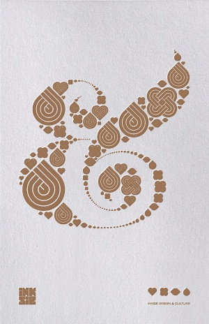 Typography | Larger version of the Ampersand print by Colorcubic