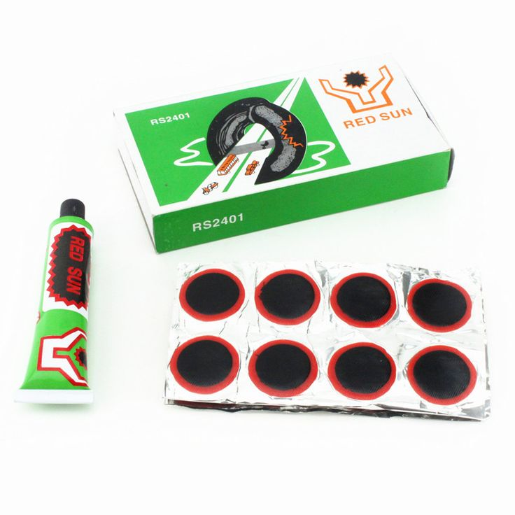 36pcs  32MM tonic film motorcycle motorcycle bicycle tire repair tool bicycle repair inner tube equipment + 20cc glue