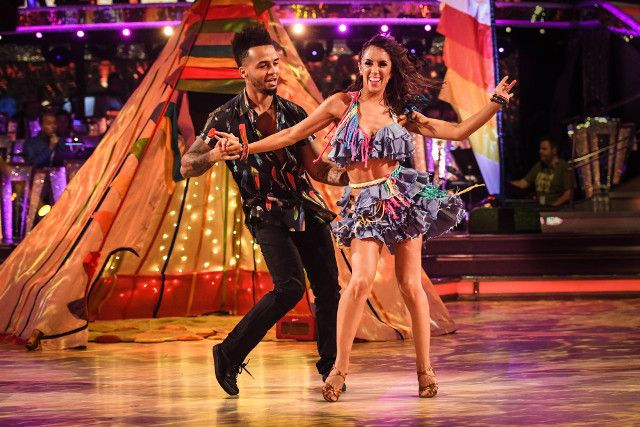 SCD week 2, 2017. Aston Merrygold & Janette Manrara. Salsa. BBC.Co.Uk/Guy Levy.