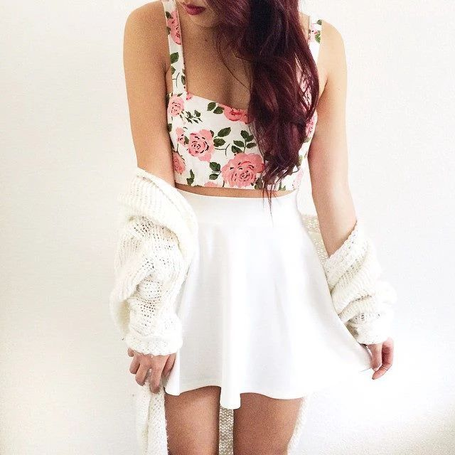 #fashion #style #outfit #clothes #girly