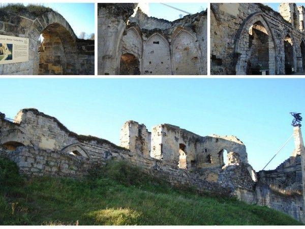 Valkenburg castle ruins. Valkenburg, Netherlands; germanyja.com