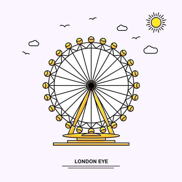 Beautiful Ferris Wheel Icon Wheel Icons Beautiful Icons Architecture Png And Vector With Transparent Background For Free Download City Vector Icon Illustration Background Banner