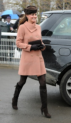 Kate attends the Cheltenham Festival Gold Cup Day - Mark Stewart photography