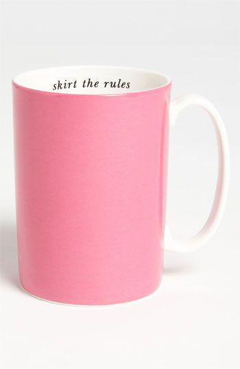kate spade pink mug