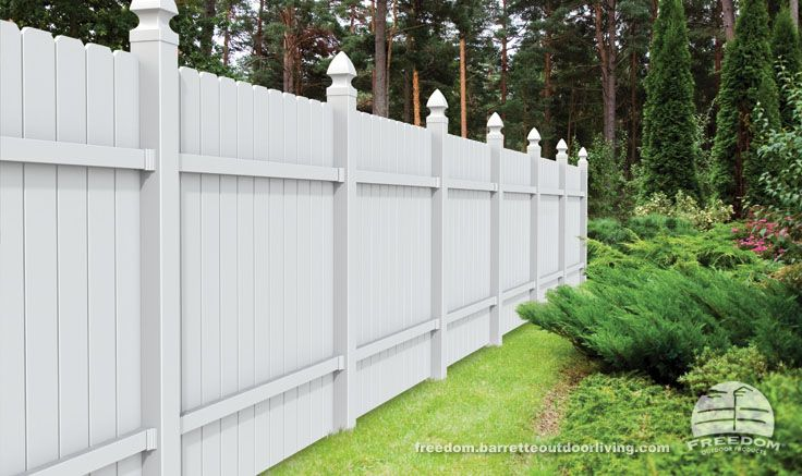 6 Foot Dogear Privacy Fence Combines Traditional Good