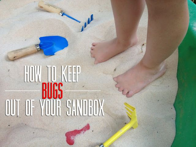 eat.sleep.MAKE.: Tips: Keep Bugs Out of Your Sandbox