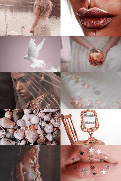 aphrodite/venus aesthetic (more here)