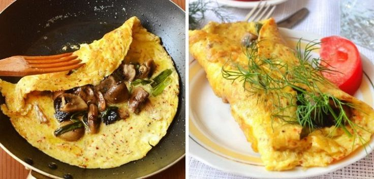 Вкусный омлет на завтрак! Что может быть лучше? Только еще более вкусный омлет! Это блюдо так просто готовится, а разнообразные ингредиенты делают его особенным, ароматным и аппетитным.