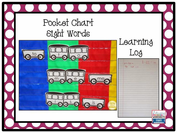 Pocket Chart Workstation and Learning Logs!  Students record their work at each workstation in a learning log.  An easy way for students to be accountable, and teachers don't have tons of paper!