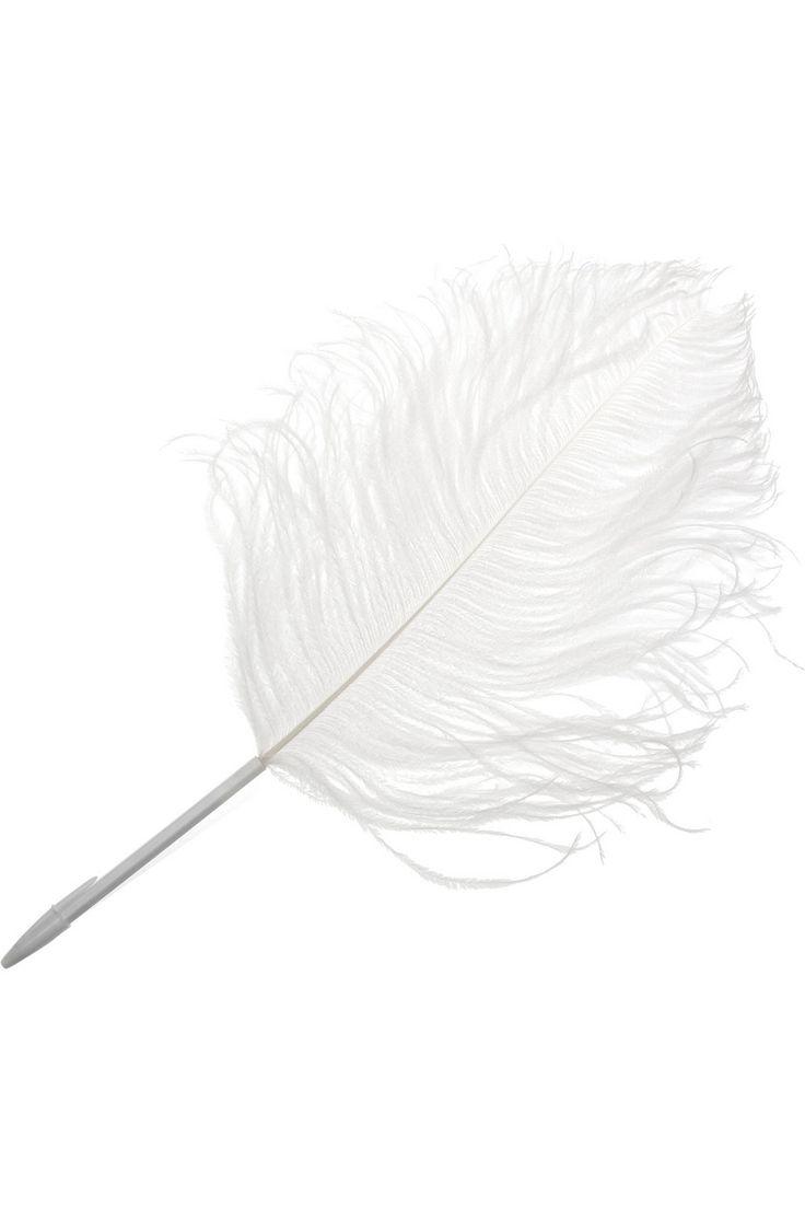Maison Martin Margiela by L'ATELIER d'exercices|Ostrich feather pen