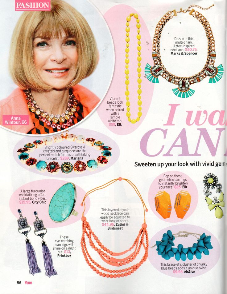 Tangia bracelet featured in Yours!  #ebandivelifestyle #accessories #fashion #style #lifestyle