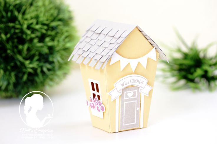 Nellis Stempeleien:  Ein Haus für alle Fälle mit den passenden Framelits Zu Hause aus dem neuen Herbst-/Winterkatalog 2016 von Stampin' UP!   Home Sweet Home; Stampin' UP!,