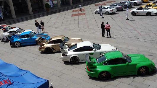 Porsche Meeting in Kobe  http://kamiwaza-japan.jp/  #RWB #RauhWeltBegriff #kamiwazajapan #1048style