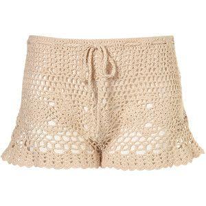 crochet shorts tutorial Crochet Pinterest