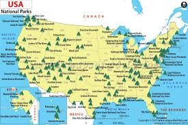 map of US national parks - Google Search | Travel in 2019 ...