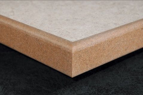 Countertop Edges For Corian : ... Surface Edged Kitchen Countertops, Solid Surface Countertop Edges