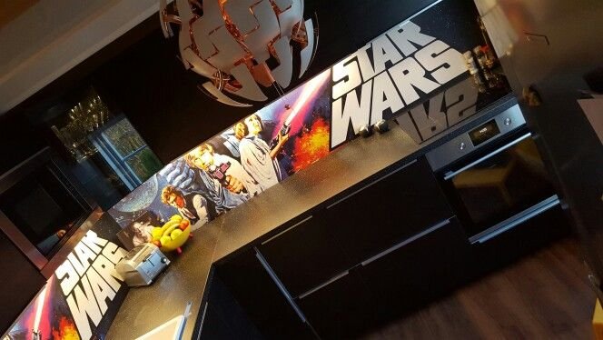 Our new star wars kitchen