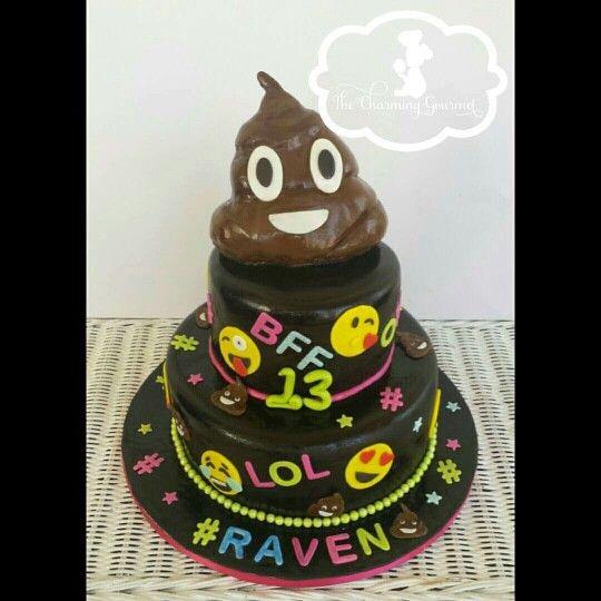 Poop Emoji Birthday Cake – Daily Motivational Quotes