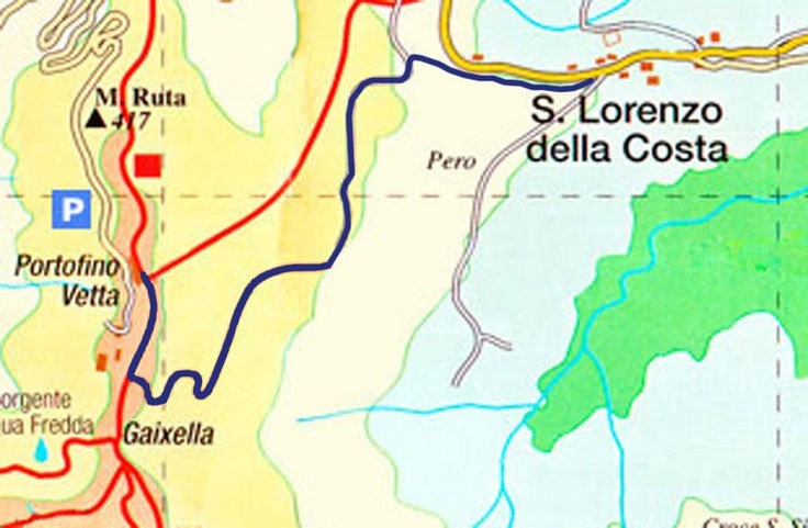 Trekking in the Parc of Portofino
