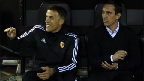 Phil and Gary Neville