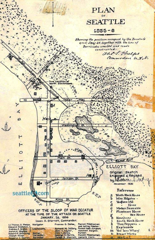 Seattle, 1855