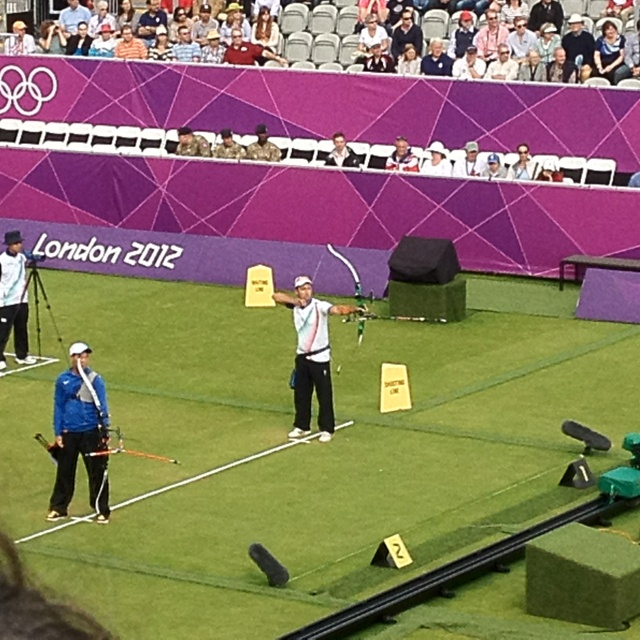 Olympic Archery!  This could be me someday!  Hey, a girl can dream, right?