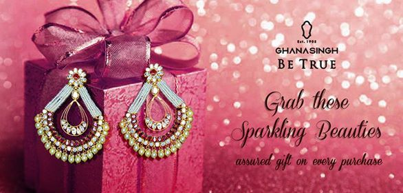 Have you shopped for your festive jewellery this season? #Diwali at Ghanasingh Be True is always splendid, this festive season take home a surprise gift on every purchase.