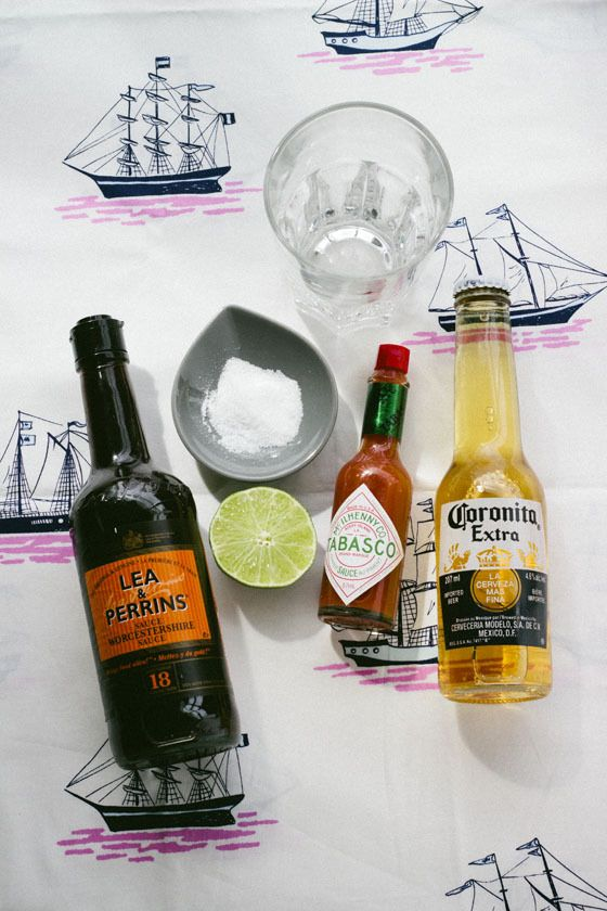Classic Michelada and Chelada - this is the very basic recipe