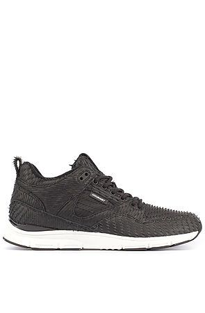 The 35 Black Scale in Black Cactus/White by Gourmet Sneakers