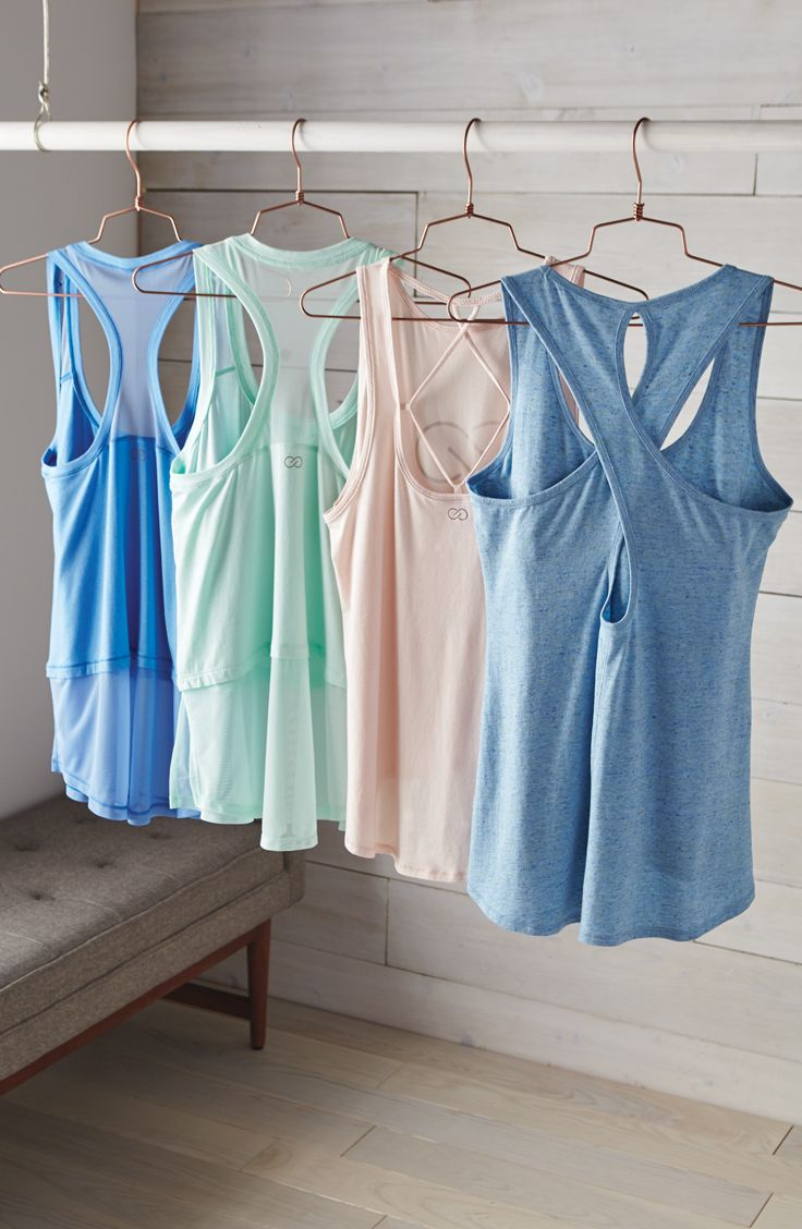 Easy and breezy tanks for everyday. | CALIA by Carrie Underwood